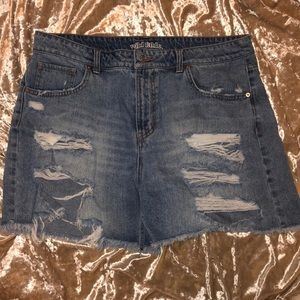 Wild fable blue jean shorts shorts
